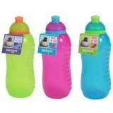 Sistema Twister Squeeze Drink Bottle 460ml,Assorted Colours One Supplied