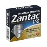 Maximum Strength Zantac 150, Acid Reducer, 24-Count (Pack of 2)