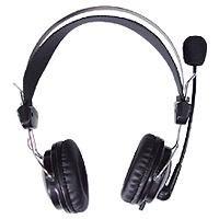 A4Tech HS-7P Stereo-Kopfhörer schwarz