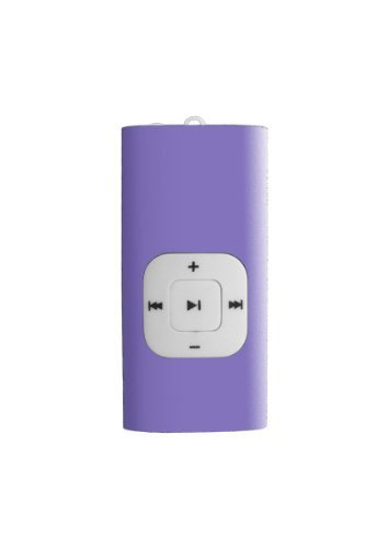 Sylvania 2 GB Clip MP3 Player (Purple)