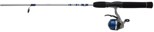 Zebco Microts/S602ML Trigger Spin Fishing Rod and Reel Combo