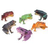 US Toy 1 Dozen Toy Frogs Toy Figure, 3""