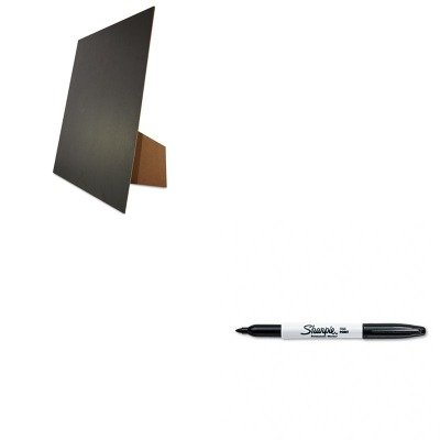 Kitgeo27119San30001 - Value Kit - Geographics Easel Backed Board (Geo27119) And Sharpie Permanent Marker (San30001)