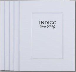 Amazon Com Set Of 10 Single White 8x10 Mats To Fit 4x6