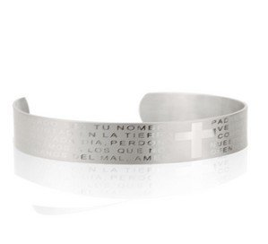 ORISON Mens Vogue & Fashionable Titanium Steel Bangle