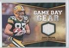 Jordy Nelson Green Bay Packers (Football Card) 2009 Upper Deck Game Day Gear #NFL-NE