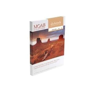 Moab Slickrock Metallic Pearl Resin Coated Inkjet Media, 260gsm, 12mil, 8.5-in x11-in, 50 Sheets