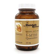 Metabolic Maintenance, 5-MTHF, Quatrefolic,10 mg, 60 Capsules