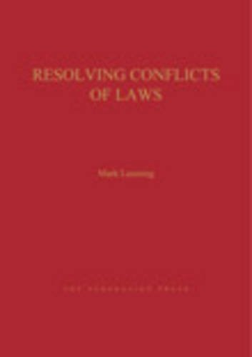 Resolving Conflict of Laws