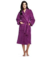 Per Una Heart Print Dressing Gown