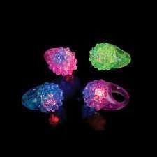 LED Bumpy Rings - 12 per unit - 1