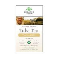 3 Savers Package:Organic India Vanilla Creme Tulsi Tea (6x18 CT)