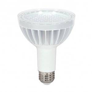 Satco S8949 14 Watt (75 Watt) 930 Lumens Par30 Long Neck Led Daylight White 5000K 40 Beam Kolourone Light Bulb, Dimmable