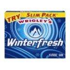 Wrigley's Winterfresh Gum coris gum gum 5 ассорти жевательная резинка 38 г