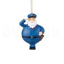 Santa Policeman Ornament