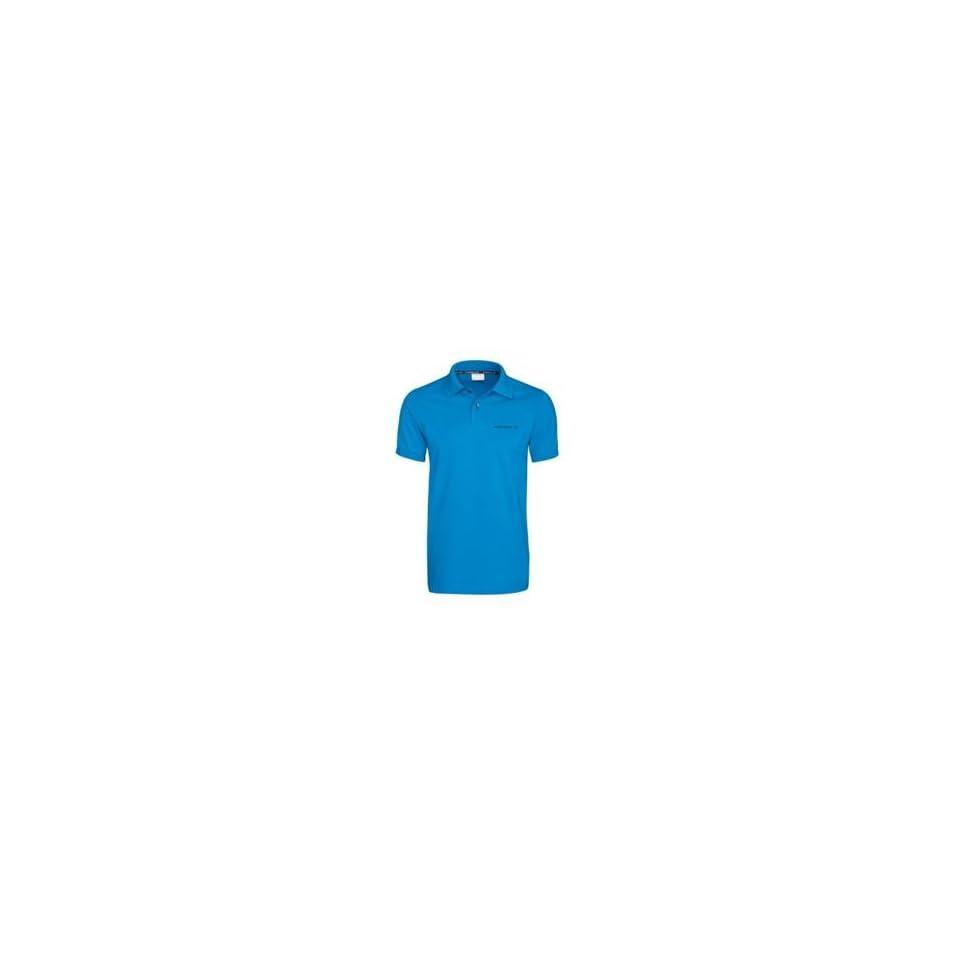 b828c2e4 Genuine Porsche Mens Polo Shirt Aqua Blue European Size Small on ...
