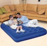 bestway-comfort-quest-double-flocked-air-bed-with-pump