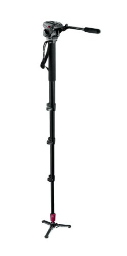 Manfrotto 561BHDV-1 Fluid Video Monopod with 701HDV Special Version Head