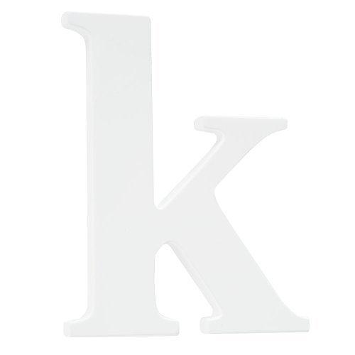 Koala Baby Lowercase Wall Letter K - White