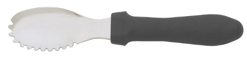 Messermeister Multi-Purpose Culinary Scoop / Scraping Spoon - Black (Pitting Spoon compare prices)