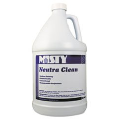 Neutra Clean Floor Cleaner, Fresh Scent, 1Gal Bottle, 4/Carton front-618486