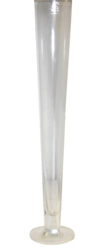Purchase extra tall flower marker clear glass vase