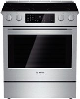 Electric Stove With Convection Oven back-23645