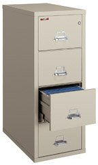 FireKing 1 Hour Fireproof Legal Vertical File Cabinet 4-2131-C