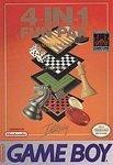 4 In 1 Funpak - Checkers Backgammon Chess Reversi aka Othello Fun Pak Game Boy Gameboy