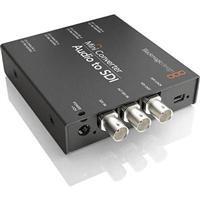 Blackmagic Design Mini Converter Audio to SDI, AES/EBU Input, Analog Audio Input, 3GB/Sec SDI