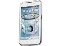 Alcatel onetouch 995 Smartphone (10,9 cm (4,3 Zoll) Touchscreen, 5 Megapixel Kamera, Android 2.3) weiß