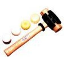 "Garland Mfg 31003 Split Head Hammers, 1 1/4"" Diameter, 14"" Handle, Rawhide from Garland Mfg"