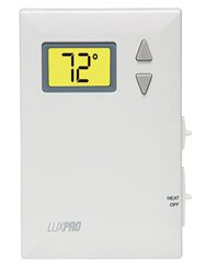 LuxPro PSD010B Digital 2 Wire Heat Only Thermostat