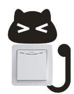 Vinilo decorativo pegatina pared, cristal, puerta (Varios colores a elegir)-gato   Más información y revisión del cliente