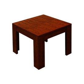 Image of Mahogany End Table (B003A5AVX8)