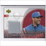 2002 Upper Deck GAME USED JERSEY Juan Gonzalez Texas Rangers at Amazon.com
