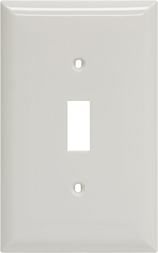 Ge 40020 Oversized Single Wall Plate, White front-464618