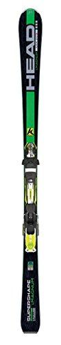 Head i.Supershape Magnum - Sci Performance con attacchi PRX 12 S, modello 2014/15, Verde (Nero/verde), 177cm
