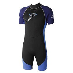 7-8y Soles Up Front Boys Shorty 2mm Wetsuit Blue (T). All Baby, Child And Kids Sizes And Colours. A Great Childrens Wetsuit For Swimming Pool, Beach Or Surfing. Ideal Gift For A Birthday Present Or Holiday Essential. Logo: Pirate. Sizes: 0-6 Months ; 6-12