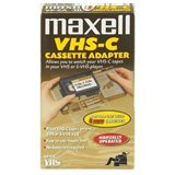 Buy Maxell VHS-C Cassette Adapter - T38565