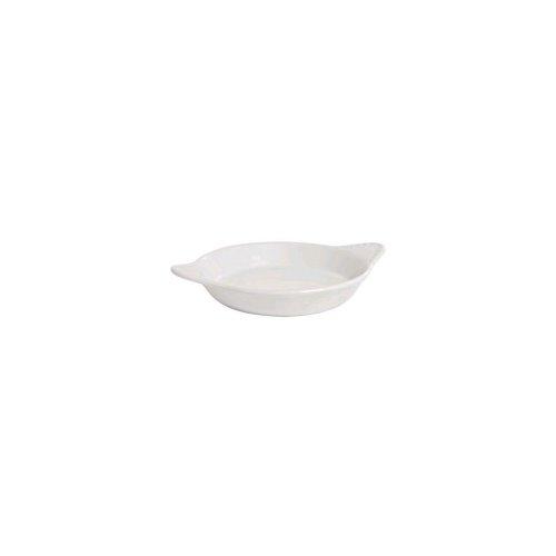 Tuxton Bwn-1202 15 Oz. Round White Shirred Egg Dish - 12 / Cs