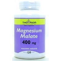 Magnesium 400mg 120 Tablets by Thompson Nutritional / 120 Tablets