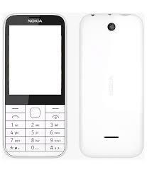 New Nokia 225 Housing Body panel - White Color