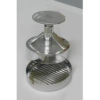 burger press maker ITALIAN MADE metal [hamburgers etc]