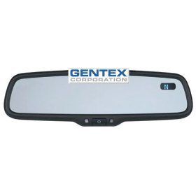 Gentex GENK20A Auto Dimming Mirror W/compass Temperature