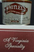 Whitley's Virginia Redskin Peanuts - Select Hand Cooked Super Extra Large Salted - 2 Pack (20 oz per tin)
