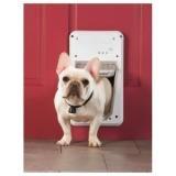 PetSafe PetSafe Smart Door Storm Door Dog Door, Aluminum, Small