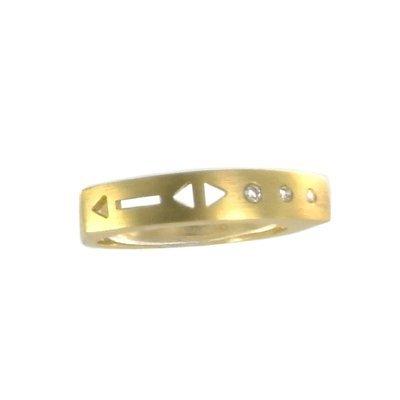 Damen Brillantring 0,05ct 14K 585 Gold W57 jetzt bestellen