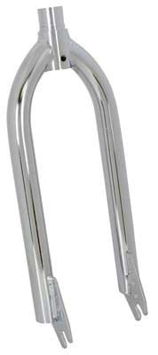 Sunlite 20″ MX Fork Threaded Length 1-9/16″, 1″ OD, Chrome, Non-Canti (FK601CPP-A)