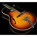 Gibson Memphis ES75VBNH1 Hollow-Body Electric Guitar, Vintage Burst